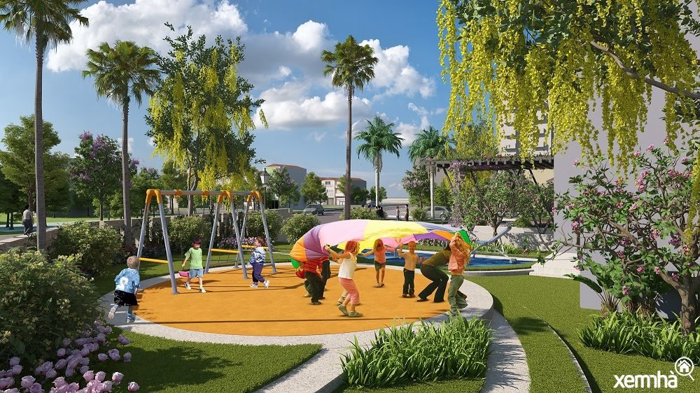 Sân chơi trẻ em Amber Riverside