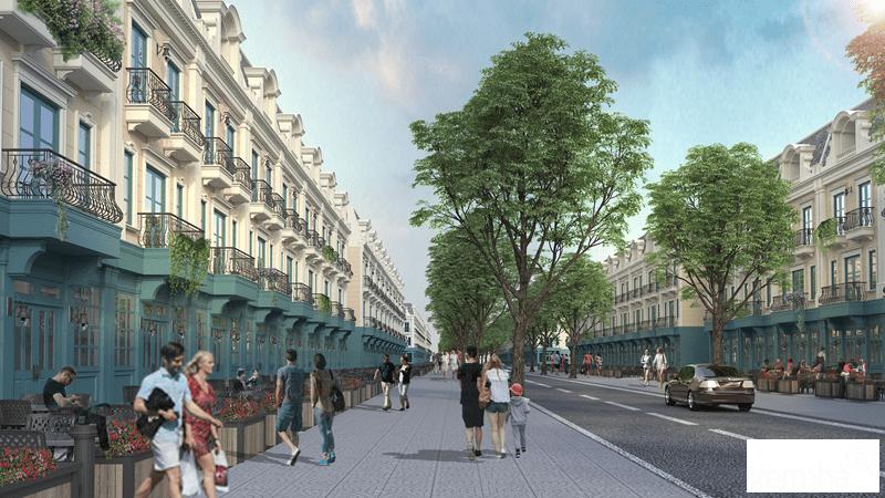 Shophouse dự án Cao Xanh Hà Khánh