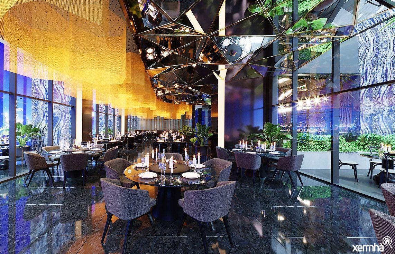 Khu nhà hàng & Sky bar