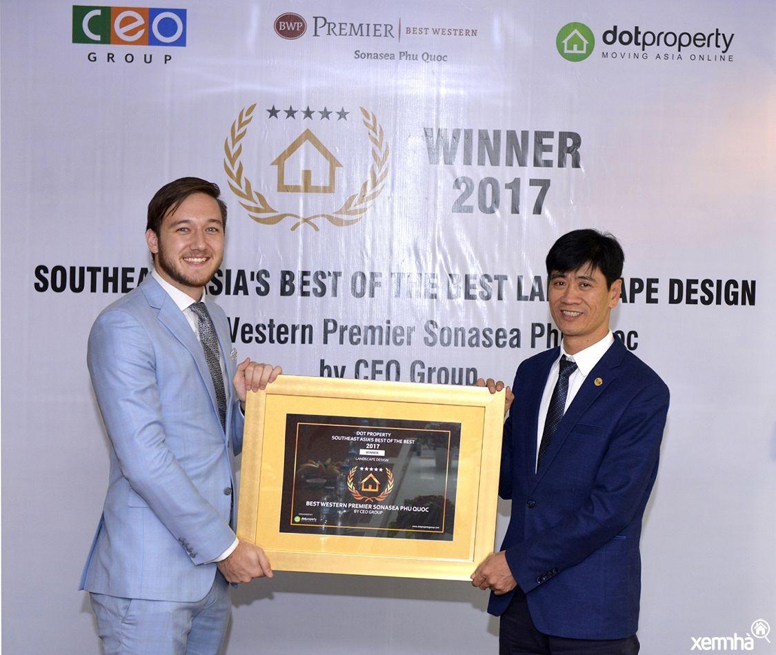 Tập đoàn CEO nhận giải bất động sản