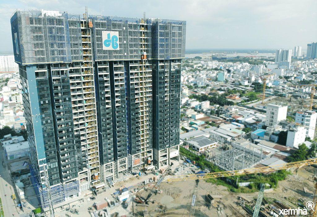 Tiến độ thi công căn hộ Sunshine City Saigon