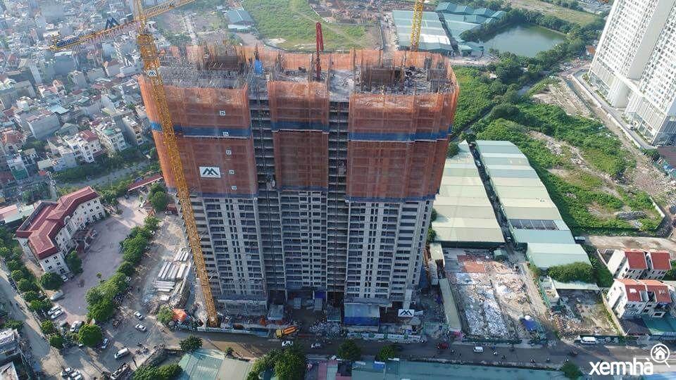 Tiến độ xây dựng dự án Eco Dream City