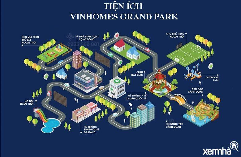 Tiện ích khu đô thị Vinhomes quận 9