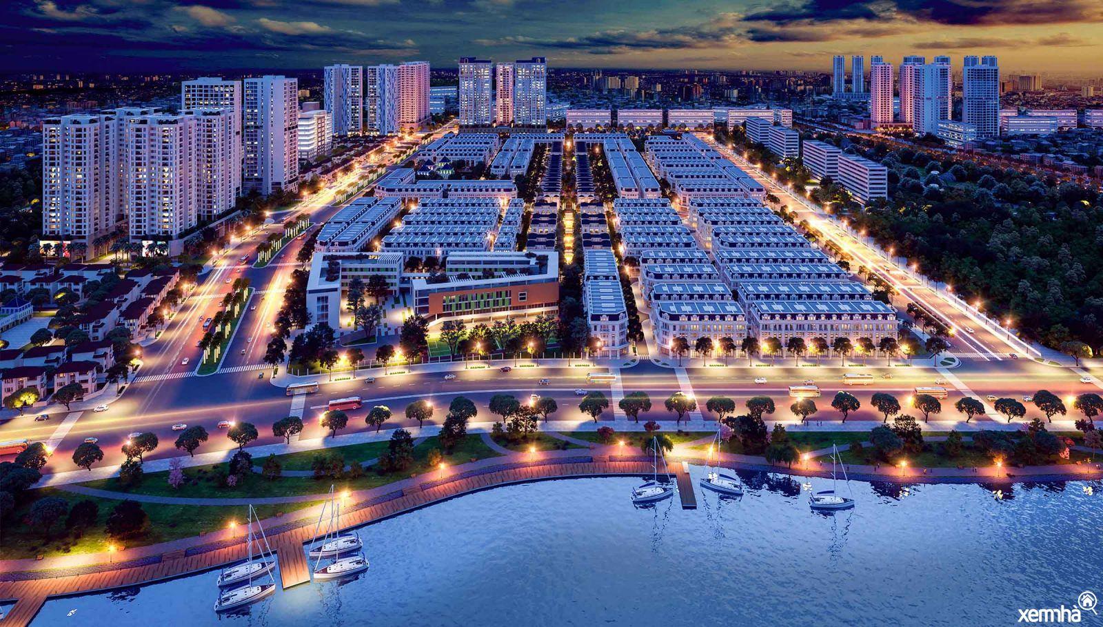 Toàn cảnh Louis City Hoàng Mai