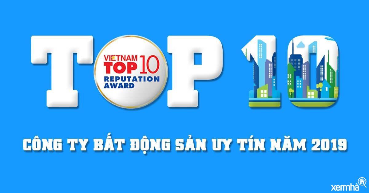 Top 10 chủ đầu tư uy tín nhất Việt Nam cập nhật năm 2019