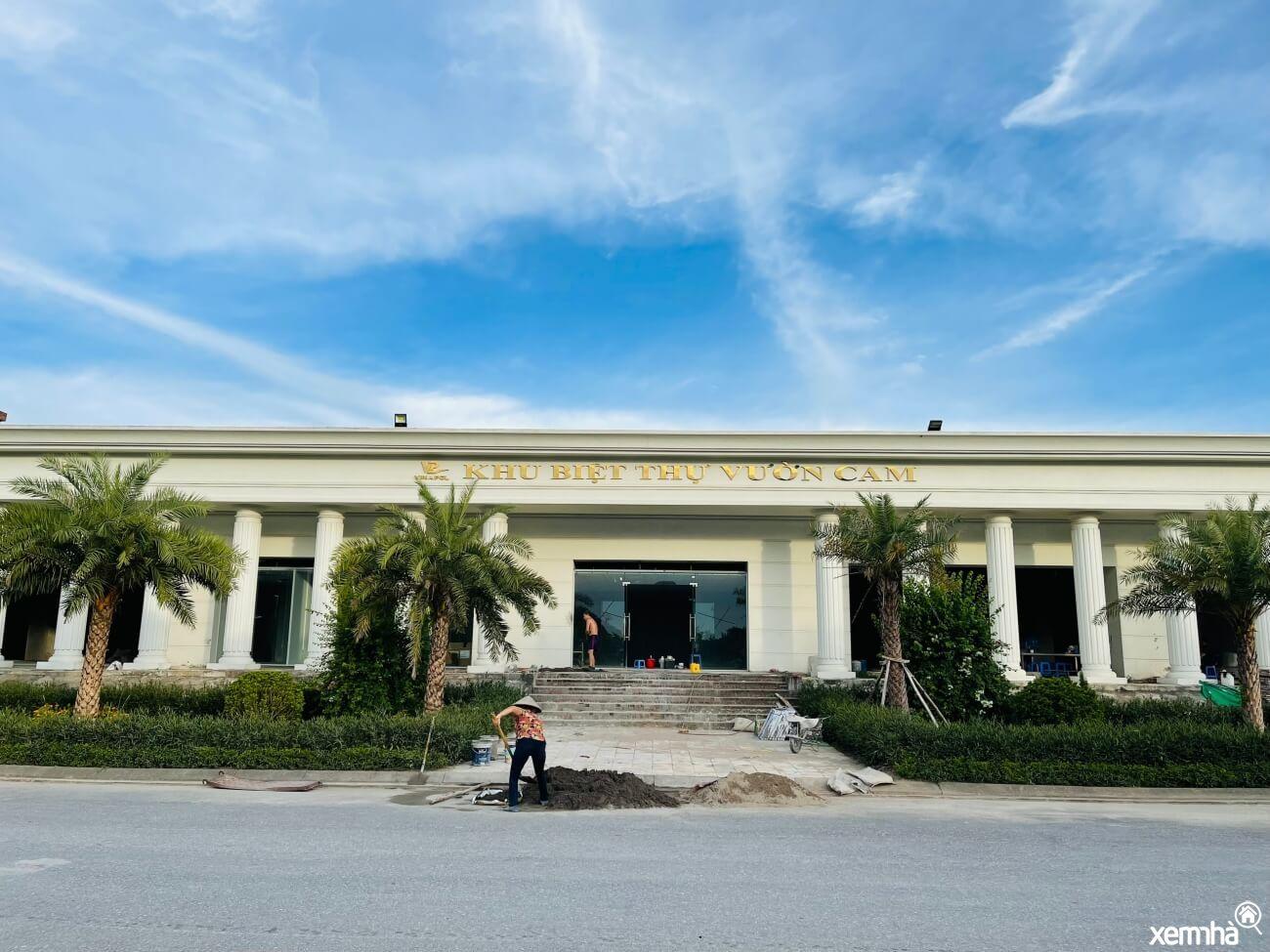 Trung tâm hội dự án Vườn Cam