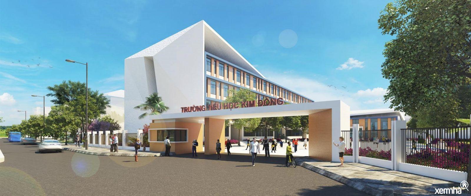 Trường học liên cấp tại Eco Green Sai Gon
