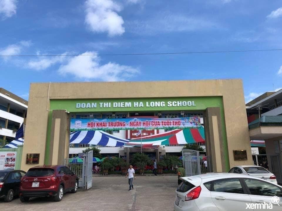 Trường học khu đô thị Cao Xanh Hà Khánh