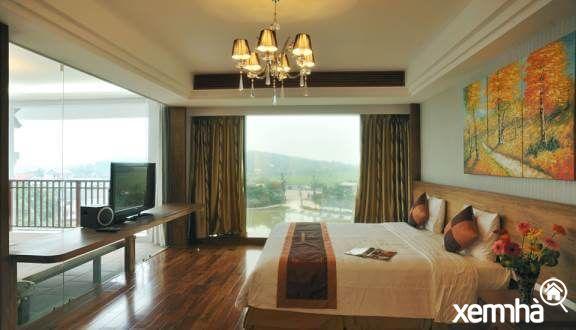 Phòng nghỉ dưỡng đầy đủ tiện nghi của Văn Minh Resort