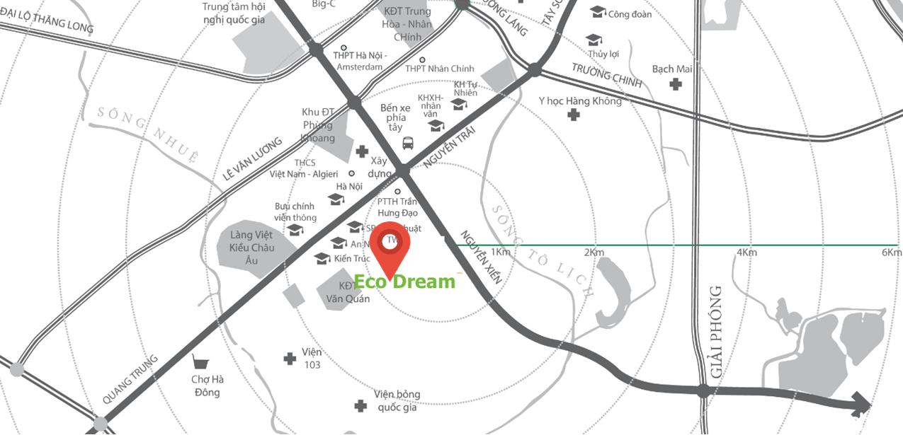 Vị trí Eco Dream City